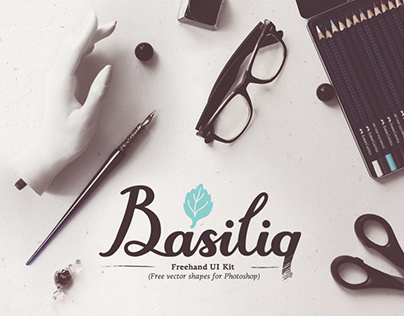 Basiliq - Freehand UI Kit