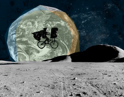 Zászlók a Holdon - Animated music video