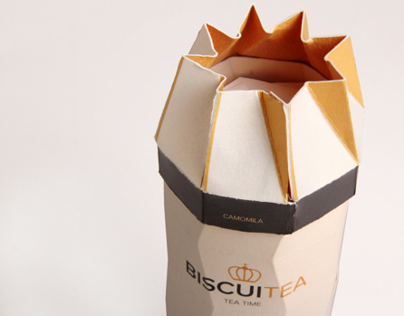 Biscuitea Packaging