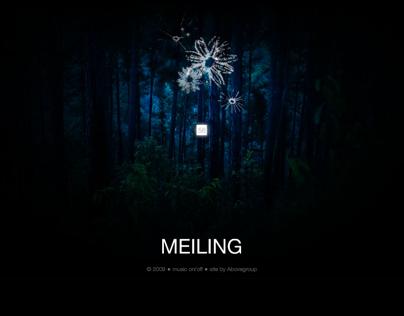 Website Design: Meiling - Caribbean Fashion Icon