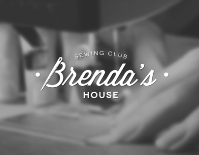 Brendas House - Sewing Club branding & website