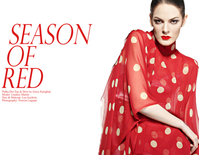 PHOTOGRAPHY: Season of Red