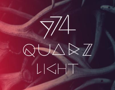 QUARZ 974 Light  | Free Font