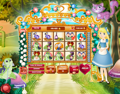 Slot Alice in Wonderland