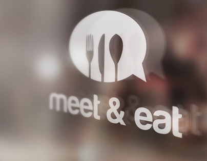 Meet & Eat | Brand Identity, Website and App