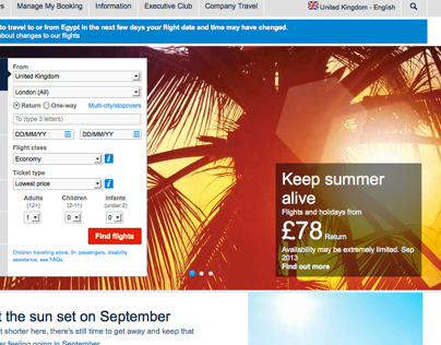 British Airways Summer Sun