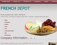 French Depot Website Development