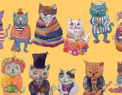 Meow illustrator
