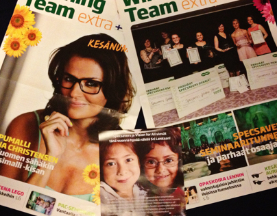 Publications for Specsavers in Finland