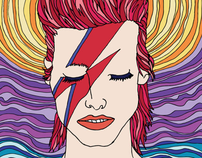 Bowie inspired poster commision