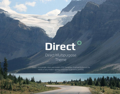Direct Multipurpose PSD Theme