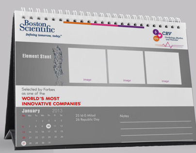 Boston Scientific - Desktop Calendar