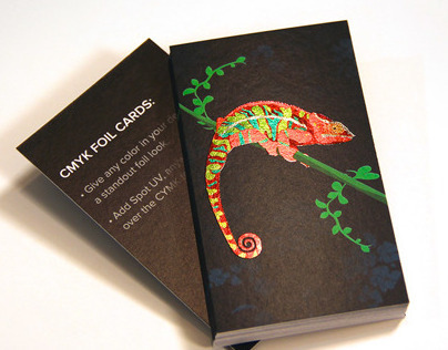 CMYK Foil Business Cards