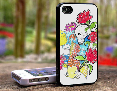 Carp&Roses - Wallpaper/Case