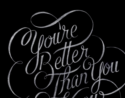 Youre Better Than You Know