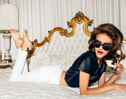 Lulus Fall Hollywood Campaign