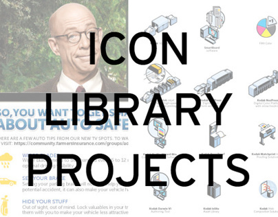 ICON LIBRARY PROJECTS