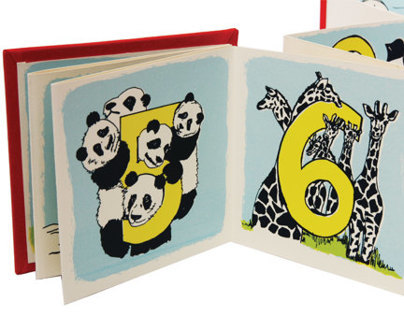 SILKSCREEN_Zoo Animal Counting Book
