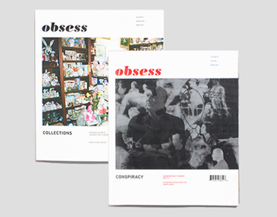 Obsess Magazine Issue 01 + 02