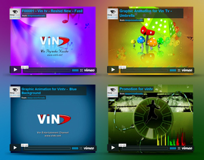 4 Video & Graphic Animation