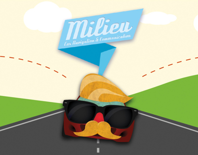 Milieu - Communication between cars for kids