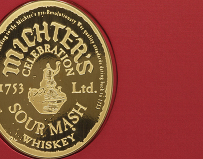 Michters Limited Edition Sour Mash Whiskey