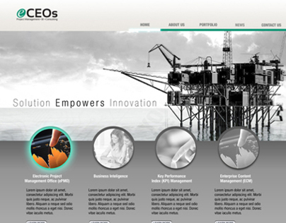 eCEOs Website Design 3