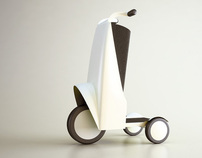adiante / trolly electrical motorcycle / 2005