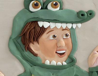 Clay illustration 1