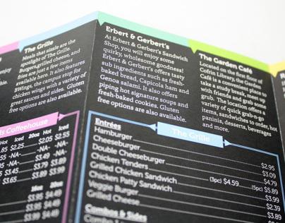 UWGB Dining Brochure & Menu