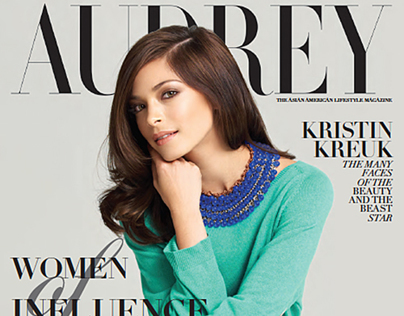 Kristen Kreuk for Audrey Magazine