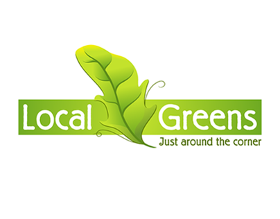 Local Greens Logo Design