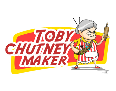 Toby Chutney Maker Label