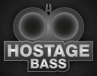 Hostage Bass Logo Design