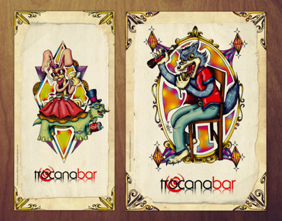 Cartas Trocana Bar