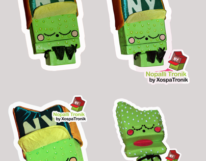 Character Design Pinata Stickers