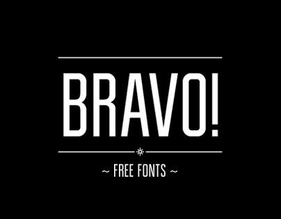 Bravo! Free Typeface