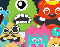 Lovely Character monster pack 2011