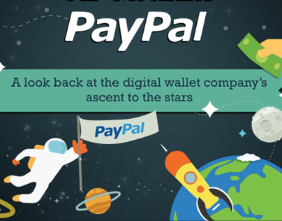 Infographic : PayPal Goes Into Space