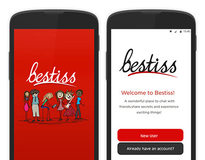 UI/UX Design for Bestiss App