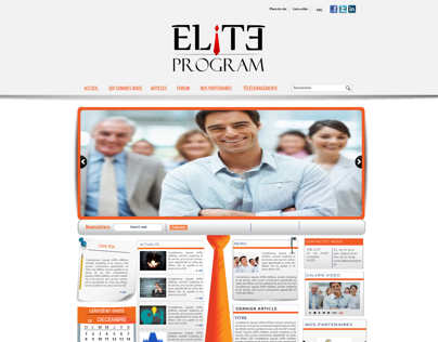 THE ELITE PROGRAM WEB SITE