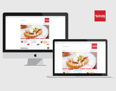 Turkas Catering Website Project