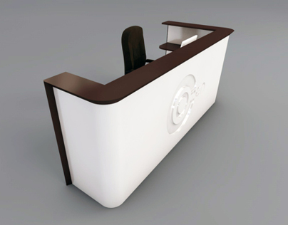 Reception Desk_II for Serviced Offices | London