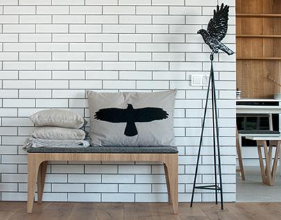 Furniture in interior