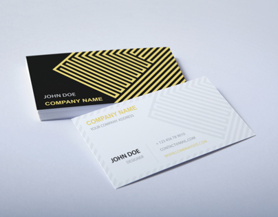 Gold Diamond Business Card