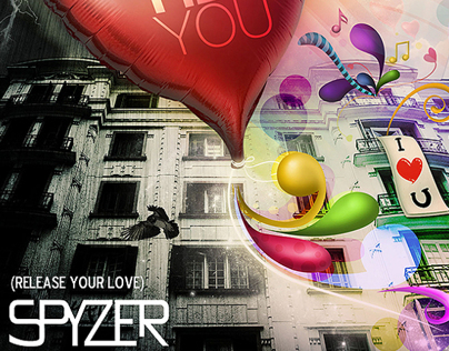Cover design made for Spizer -Hey You single.