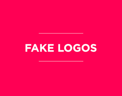 Fake Logos and Brands