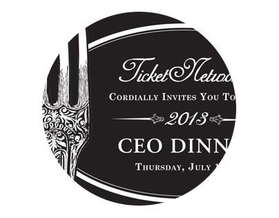TN CEO Dinner Invitation & Menu