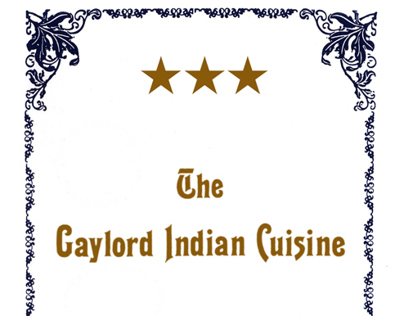 The Gayloard Indian Cuisine - Restaurant