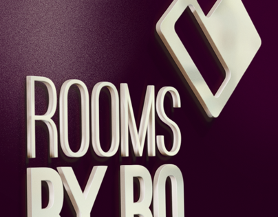 Rooms by Ro Logo Design by Laura Booth, Freelancer